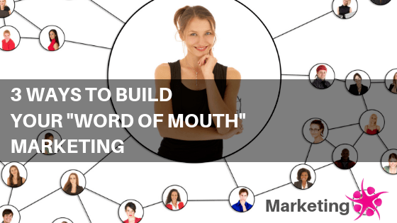 Discovering my word of mouth marketing assets