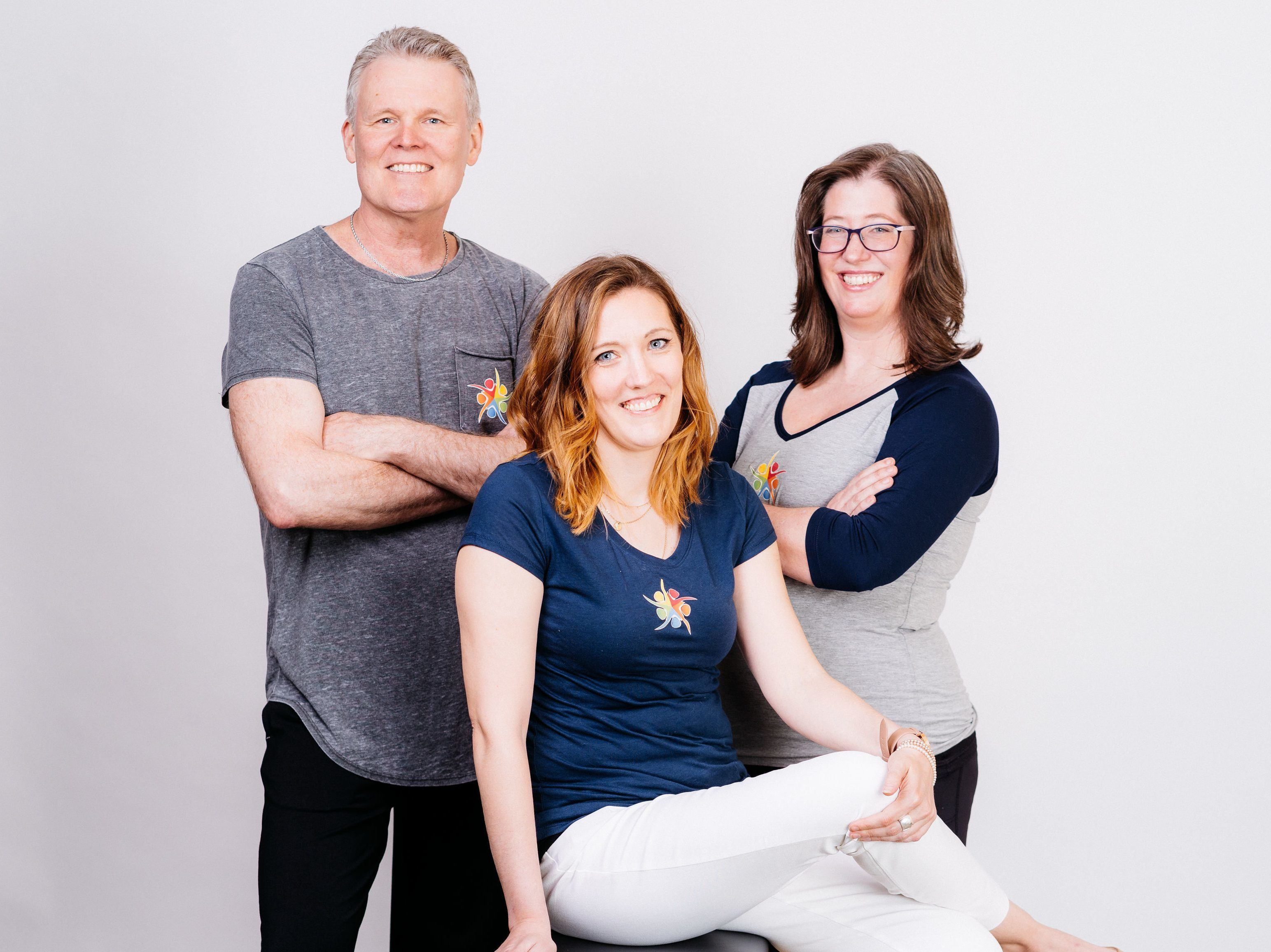 The Pilates Business Pros, Mark Firehammer, Laurie Johnson, Katrina Hawley