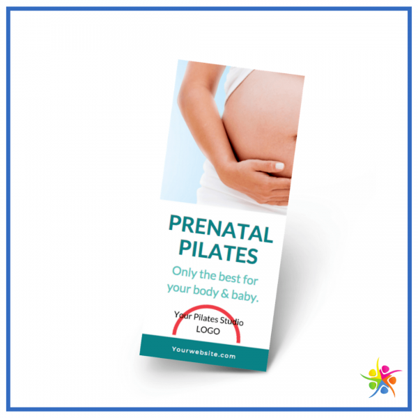 Prenatal Pilates networking brochure for Pilates professionals from Pilates business pros