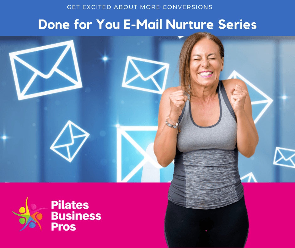 E-Mail Nurture Series Intro Offer from Pilates Business Pros