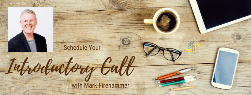 scheduling introductory call with Mark Firehammer