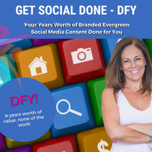Get Social Done Done for You service graphic